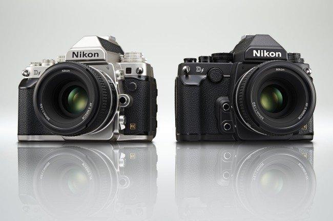 Diseño retro de la nueva Nikon DF