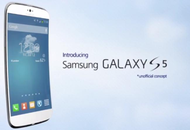 Concepto del Galaxy S5