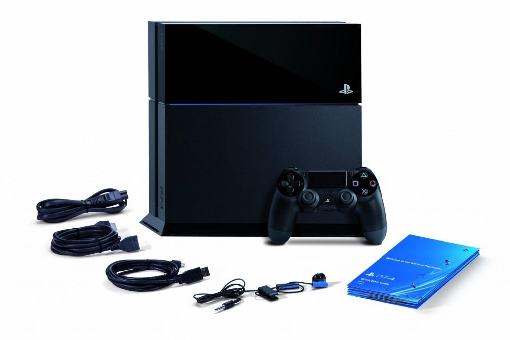 Desempaque del PS4