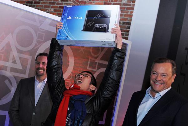 Primera PS4 vendida el pasado fin de semana