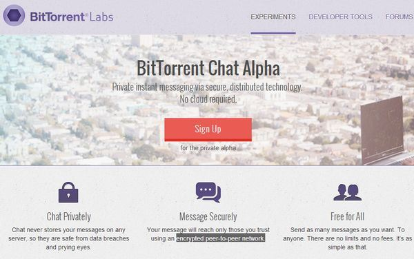 BitTorrent chat seguro 1