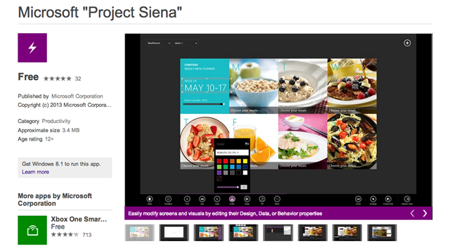 Project Siena 1