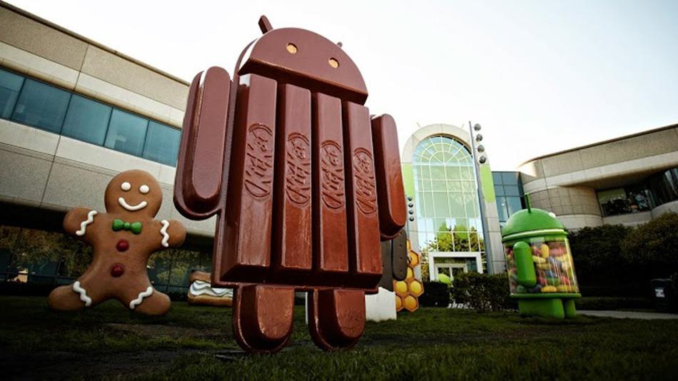 Estatua de Android Kitkat