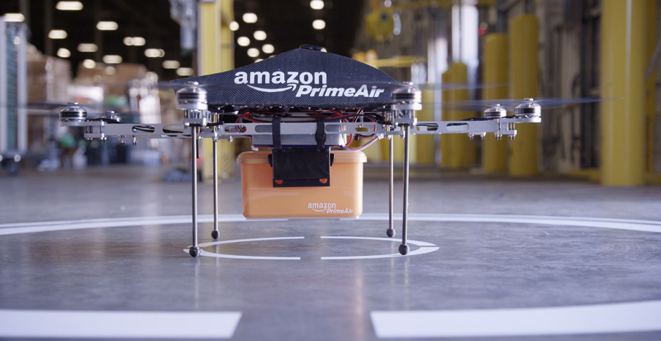 Dron Prime Air de Amazon