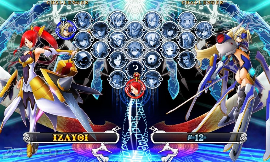 BlazBlue Chrono Phantasma PS3 2