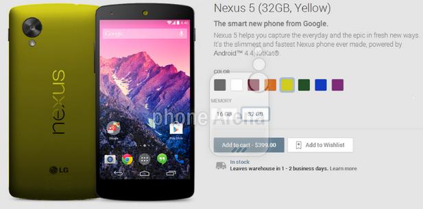 amarillo-nexus-5
