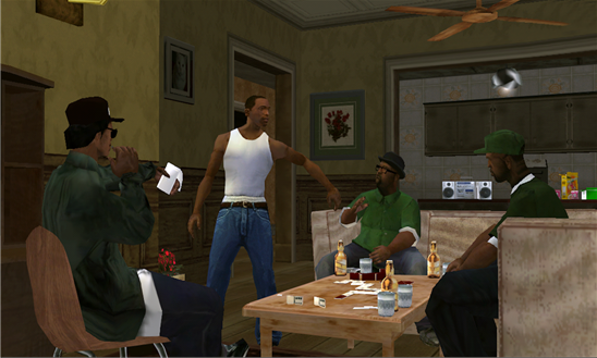 GTA: San Andreas en Windows Phone