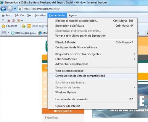 Pasos para usar IDSE con Windows 8