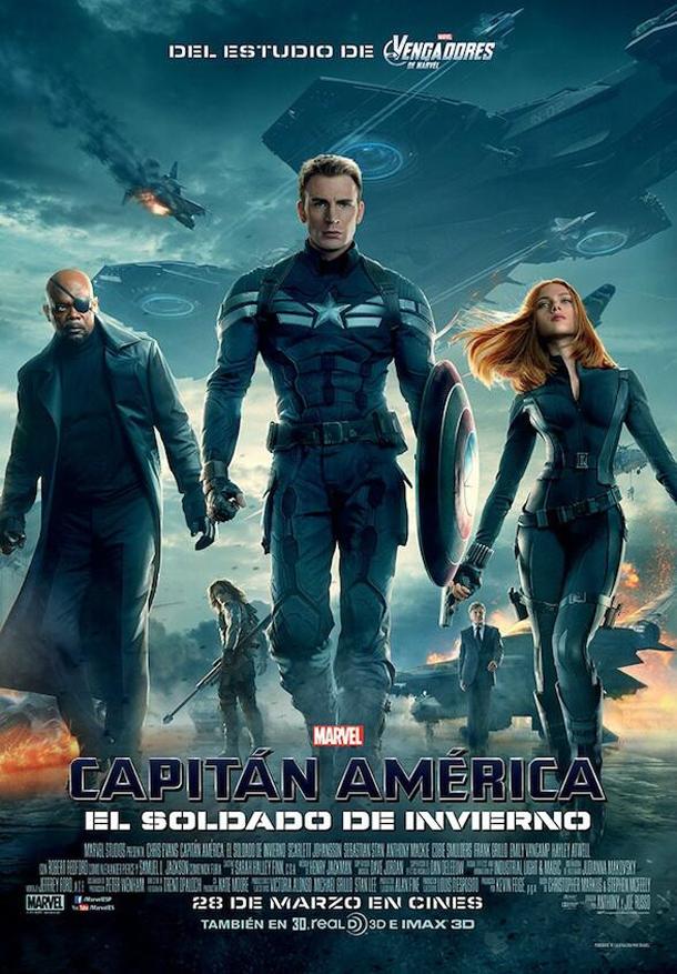Poster Capitán América: El Soldado de Invierno