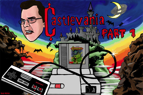 Angry Video Game Nerd Castlevania 2 1