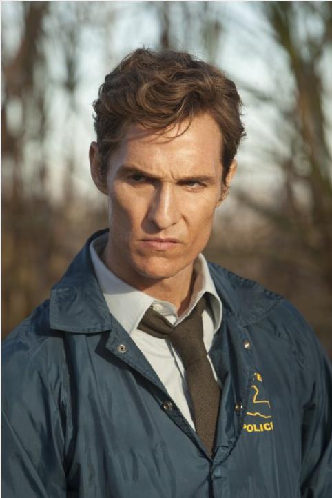 Matthew McConaughey como el detective Rust Cohle