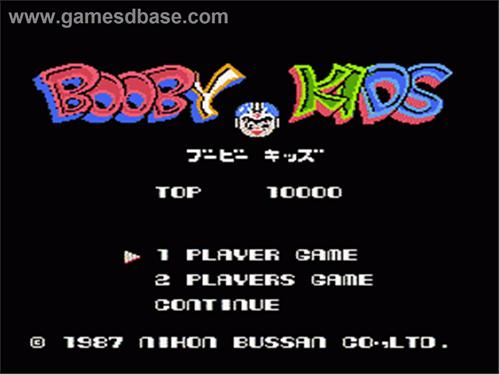Booby Kids Nintendo 1