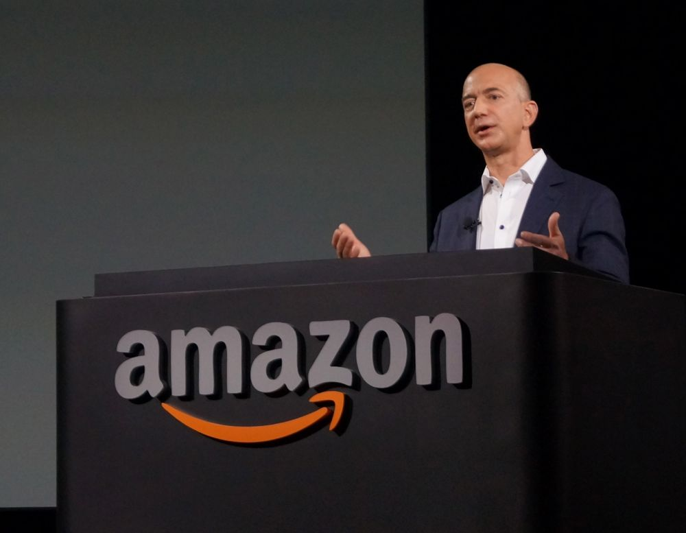 CEO Jeff Bezos