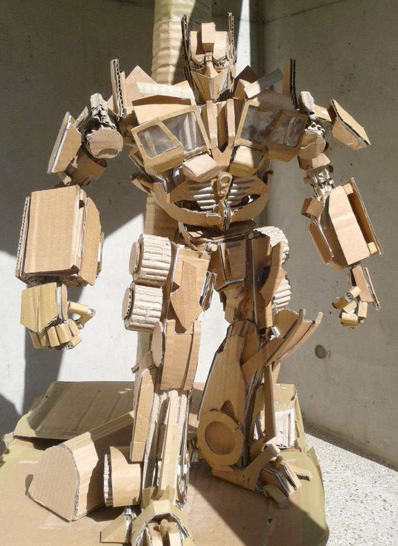 carton-optimus-prime