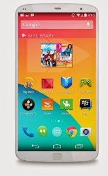 Concepto del Nexus 6