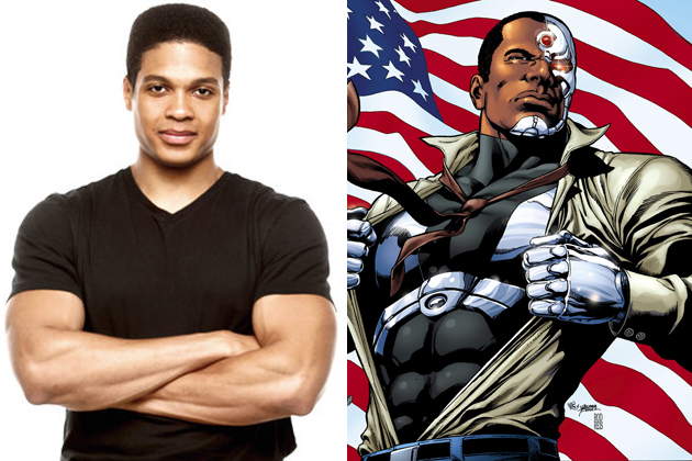 Ray Fisher interpretara a Cyborg