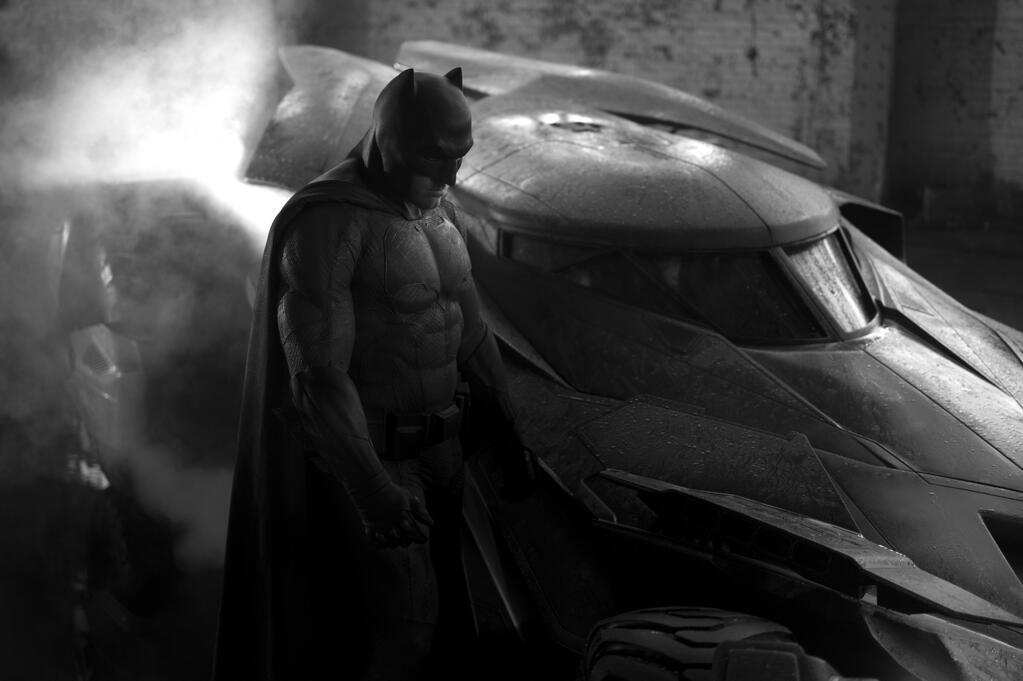 Ben Affleck bajo el nuevo manto de Batman, inspirado en el comic de Frank Miller