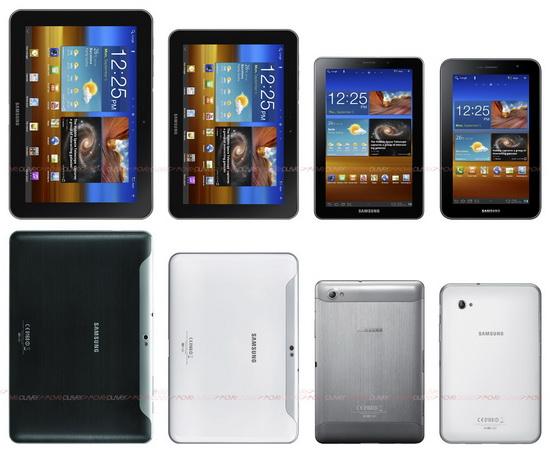Samsung presentó su nueva familia de tabletas de alta gama