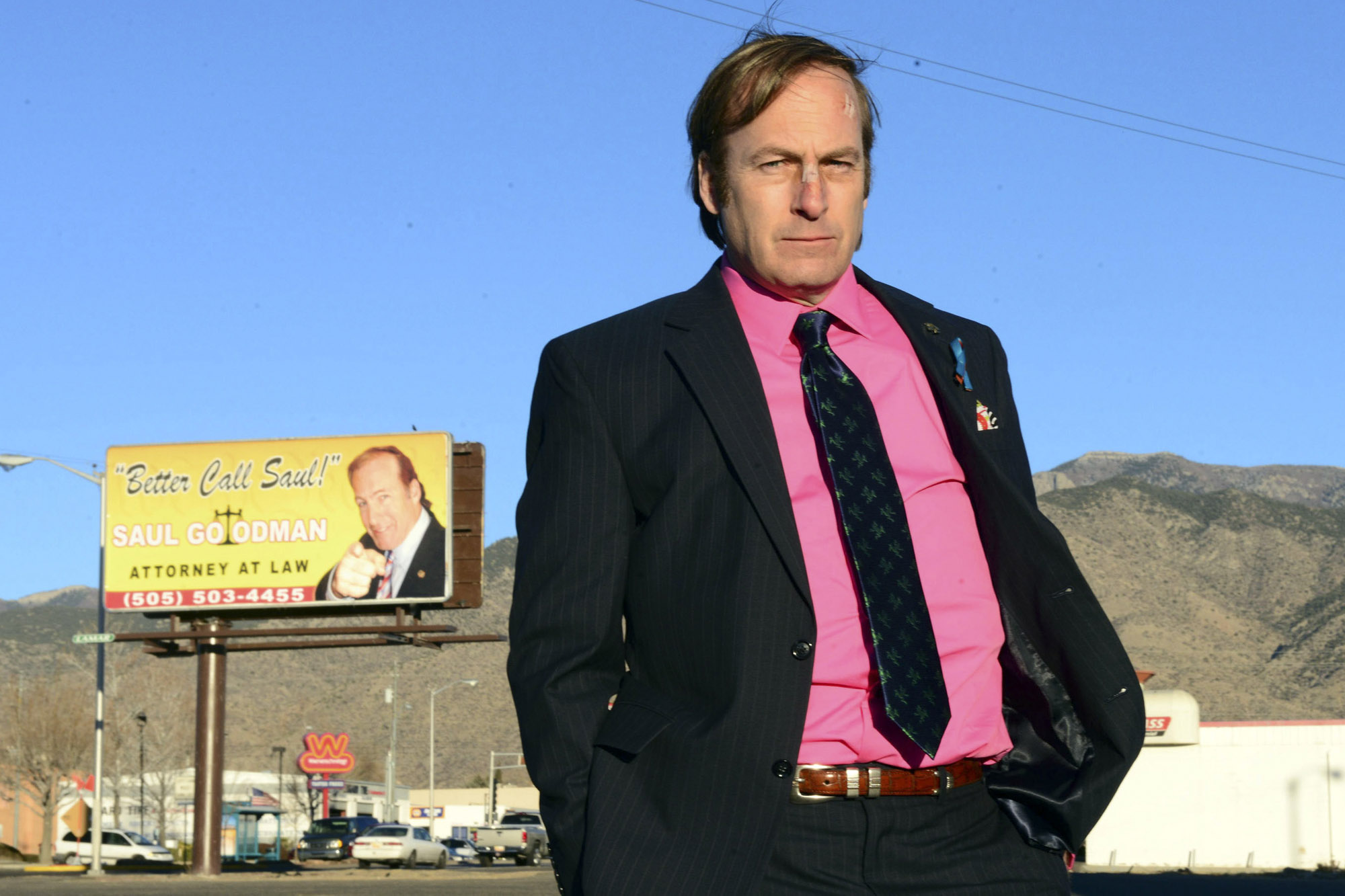 Bob Odenkirk es el actor que interpreta a Saul Goodman