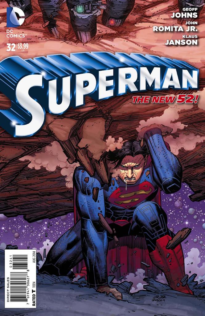 Portada Comic #32 de Superman