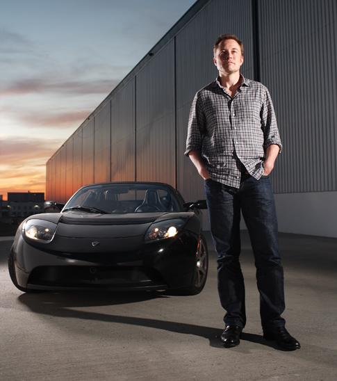 Elon Musk, director de Tesla Motors