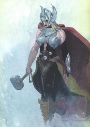 El nuevo personaje también se llamara Thor. Nada de Lady Thor o Thorita.