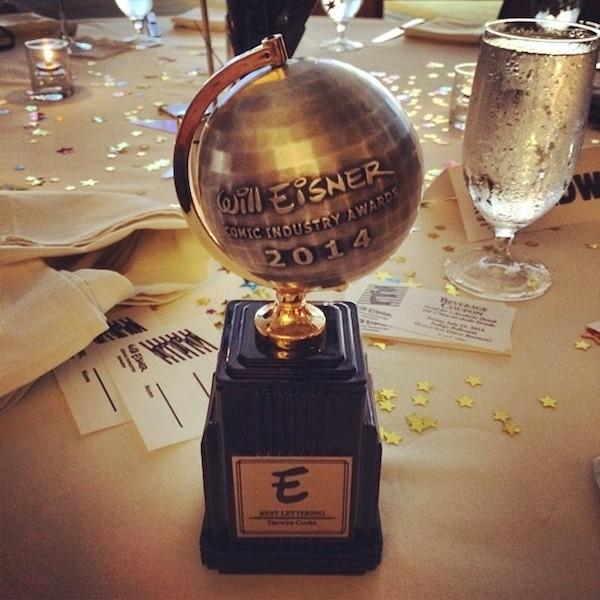 Premios Eisner 2014