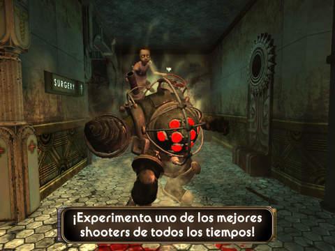 Bioshock para iOS no tiene la misma calidad gráfica que las consolas, pero es suficiente para un móvil