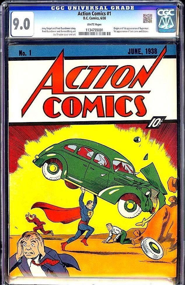 Este es el comic vendido y registrado para demuestra su autenticidad