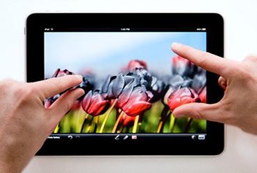 Con el iPad se pueden realizar trabajo de edición de imágenes casi profesionales