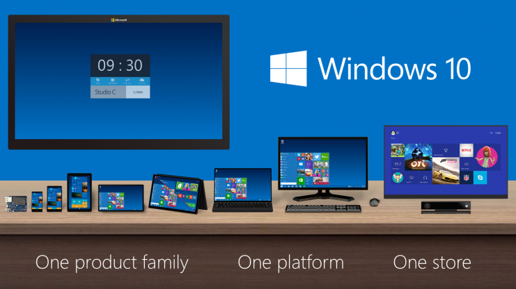 Windows 10 será compatible con múltiples pantallas