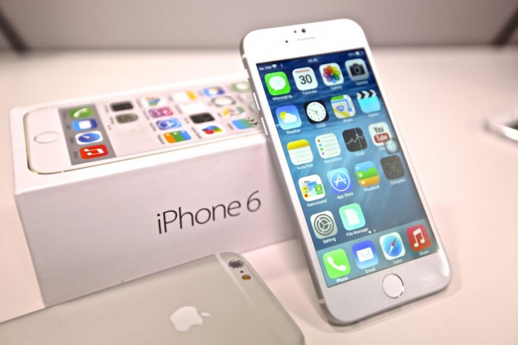 iPhone 6 disponible en la tienda Apple