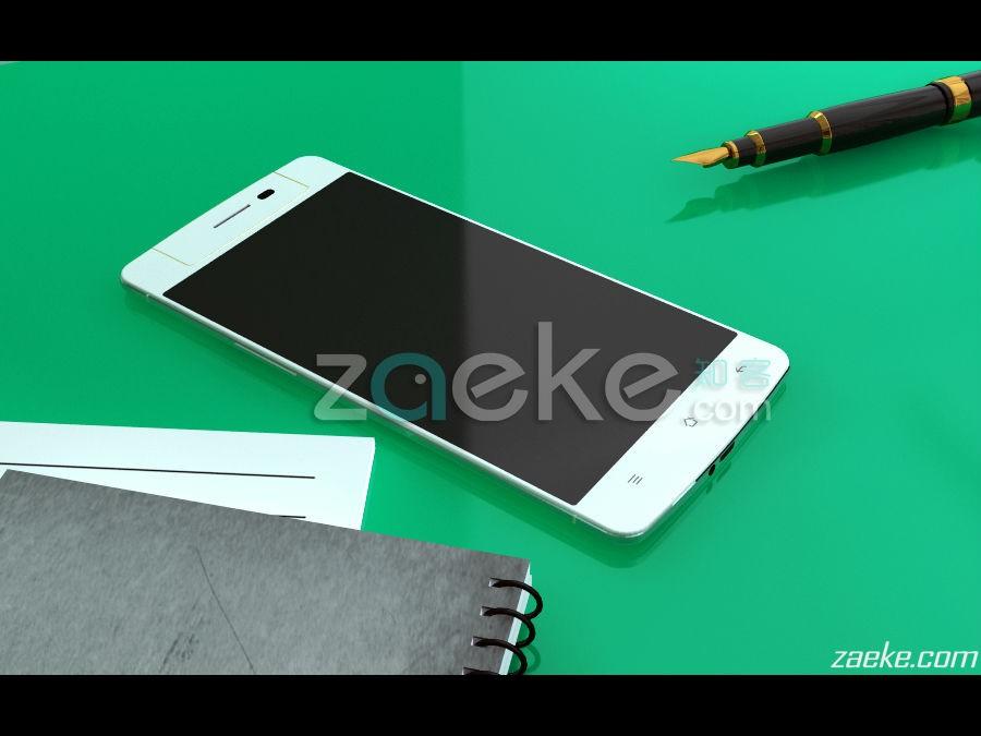 Este seria el diseño del Oppo N3 que llegaria al mercado a finales de octubre