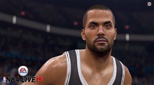 Así se ve Tony Parker, jugador de San Antonio Spurs en NBA Live 15