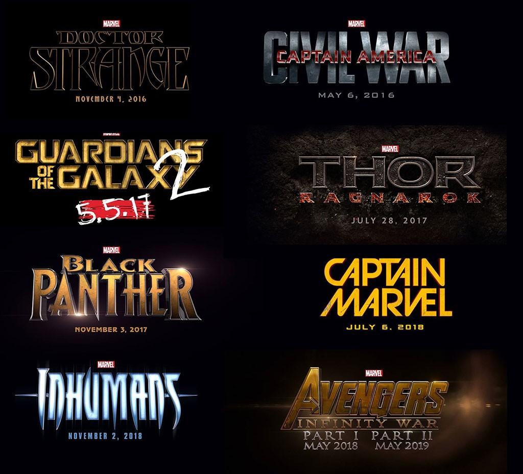 Películas de Marvel para la fase 3
