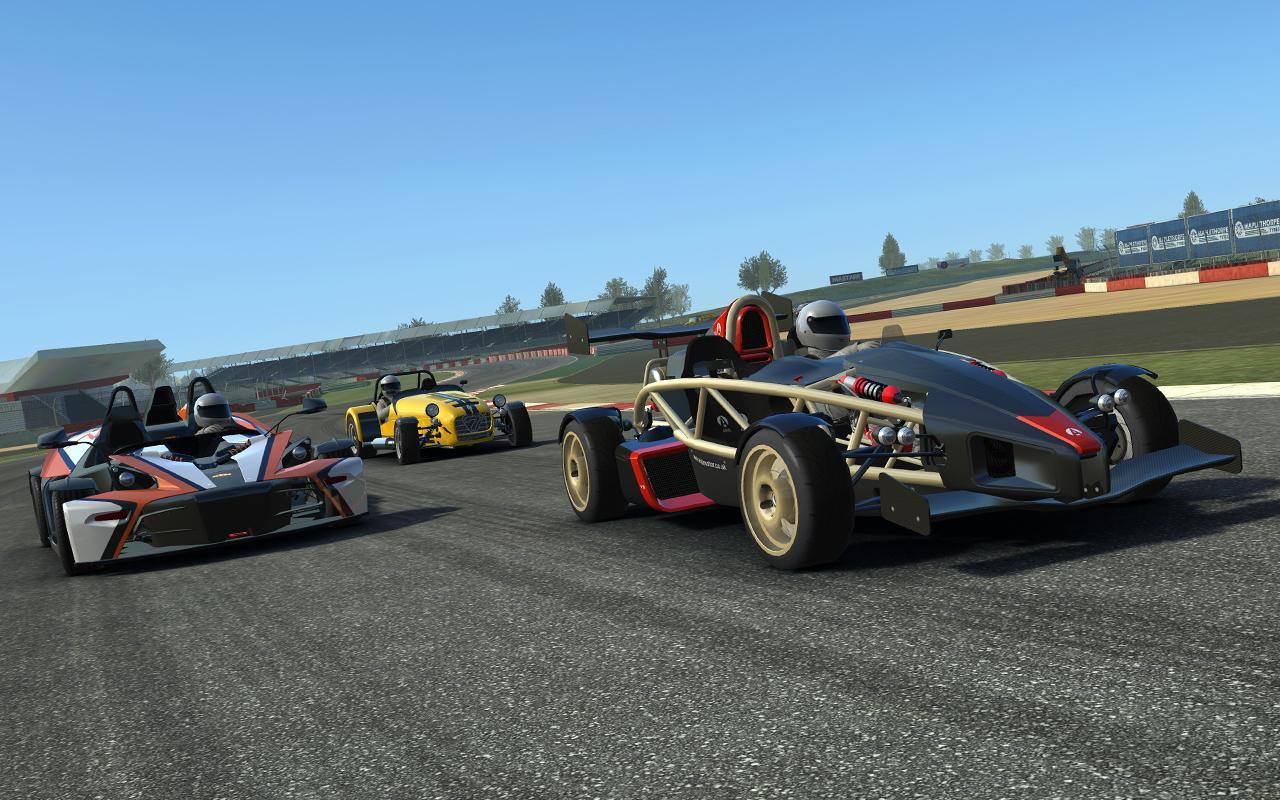 Las gráficas de Real Racing son de las mejores que se pueden encontrar en un videojuego para Android