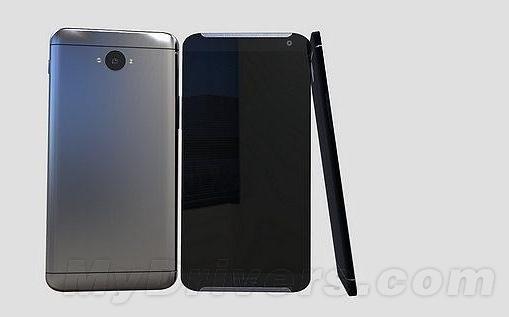 Esta imagen es la única que se ha podido ver de los primeros prototipos del HTC One M9