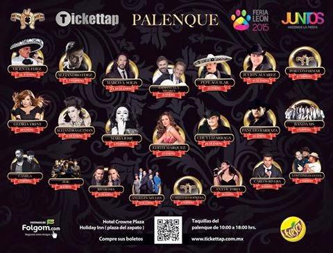 Feria de León 2015 Palenque