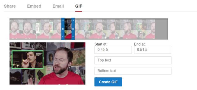 GIF en YouTube