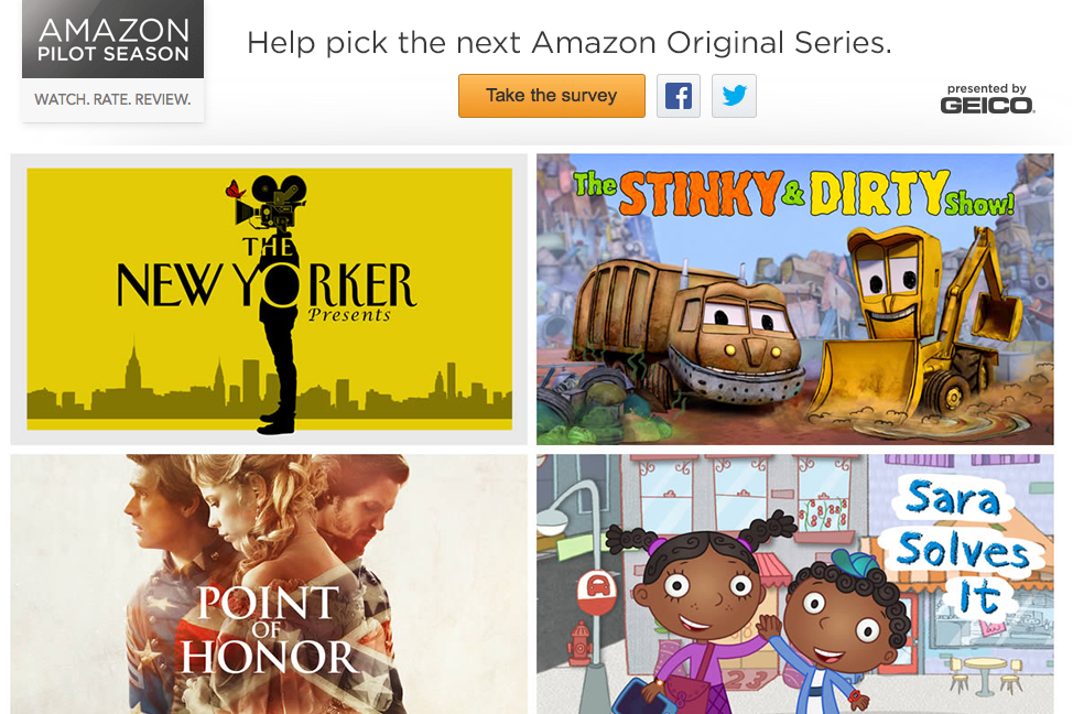 Amazon Instant Video se prepara con nuevas series