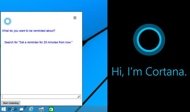 Cortana se integra con todo el sistema operativo