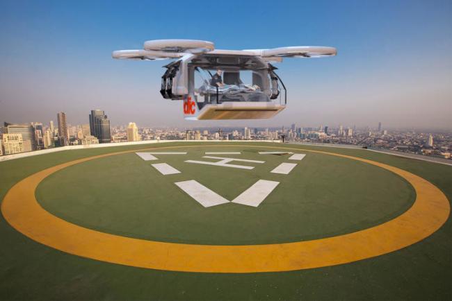 El dron que podria salvar muchas vidas
