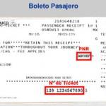 Te indicamos donde aparece el PNR y Num Ticket del Boleto de Pasajero de Aeroméxico.