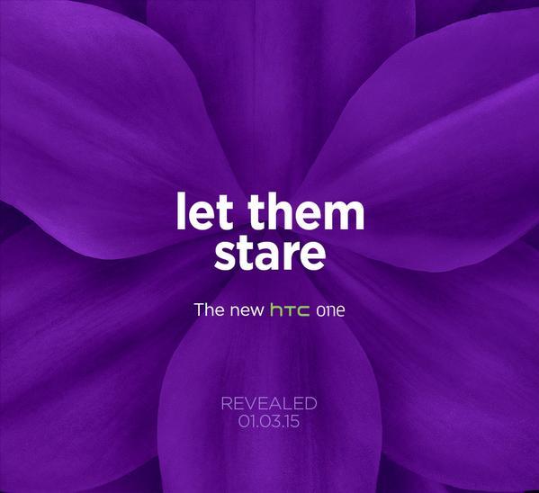 HTC rompe con la expectativa y confirma que mostrara el HTC One M9 en 1 de marzo en Barcelona