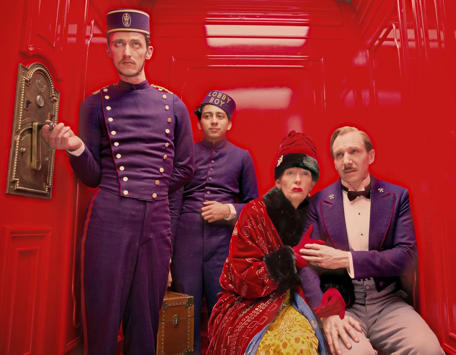 Los colores, uno de los elementos característicos del filme