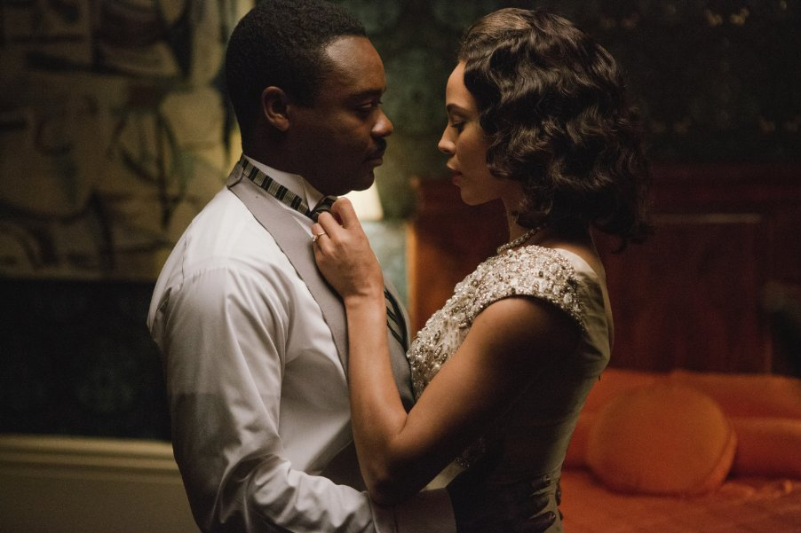 David Oyelowo (Martin Luther King), Carmen Ejogo (Coretta Scott King)