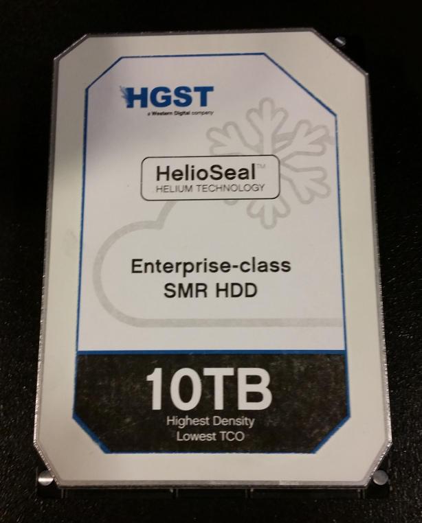 Disco duro de 10TB fabricado por Hitachi