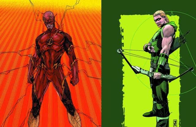 Flash y Flecha Verde