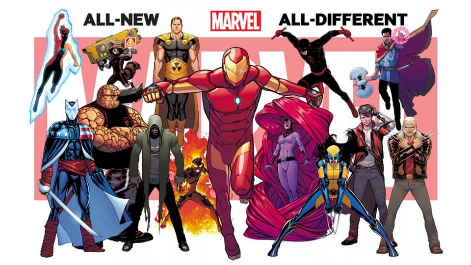 Estos son los personajes de All-New All Diferent