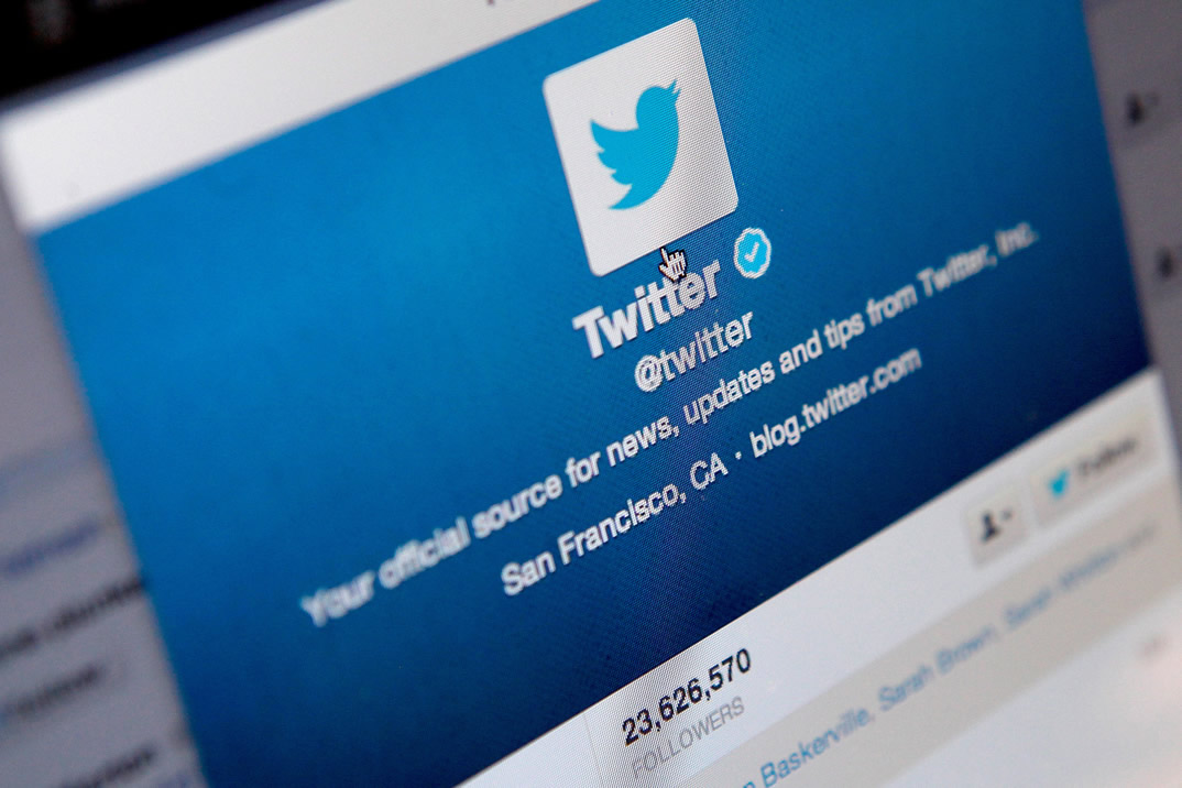 Perfil oficial de Twitter